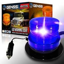 40 LED Emergency Flash Strobe and Rotating Beacon Warning Light 15W Blue