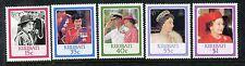 Kiribati 470-474 MNH Queen Elizabeth II  60th birthday 1986 Portraits x17107