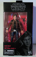 "Hasbro Star Wars Black Series 6"" HAN SOLO #62 - NEW - Hard to Find!"