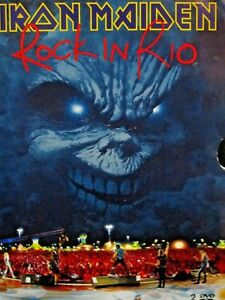 Iron Maiden - Rock in Rio 2 DVD REGION 4,Concert Live 2001,RARE ,English