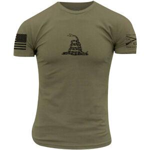 Grunt Style Gadsden Basic T-Shirt - Military Green