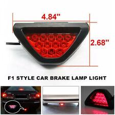 12V LED Car Rear Tail Brake Stop Light 3rd Red Strobe Safety Fog Lamp Bumper