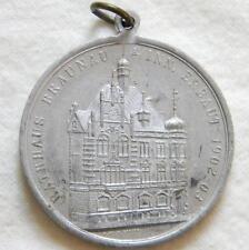 BAVARIA, Germany-1903 BRAUNAU city 700-year anniversary; large aluminum medal AU