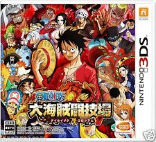 One Piece Great Pirate Colosseum Dai Kaizoku NINTENDO 3DS JAPANESE  JAPANZON COM