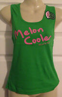 Ladies funky green melon cooler cocktail vest top by NAUGHTY Size 8 10 12  NEW