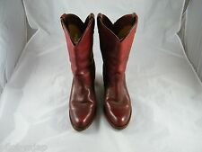 DOUBLE HH ~ COWBOY BOOTS ~ SIZE UNKNOWN ~ WOMAN'S BOOT ~ MADE IN CANADA