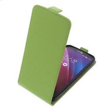 Funda para Asus Zenfone 2 Láser ZE500KL Tipo Flip Móvil Verde
