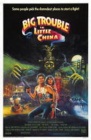 Home Wall Print -Vintage Movie Poster -BIG TROUBLE IN LITTLE CHINA - A4,A3,A2,A1