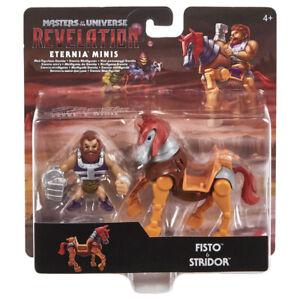 FISTO & STRIDOR Masters of the Universe Revelation MotU Eternia Minis 2 Pack NEU