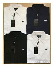 Mens Emporio Armani Poplin Shirt