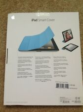 Official Genuine Apple iPad 2 Smart Cover Light Blue Boxed Magnetic Light Use