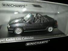 1:43 Minichamps Opel Kadett E GSI Cabrio 1989 black/schwarz Nr. 400045931 OVP