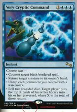 Very Cryptic Command-versión 6 (misprint #1) | nm/m | unstable | Magic mtg