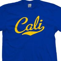 Cali Script & Tail T-Shirt - California Republic Sports - All Sizes & Colors