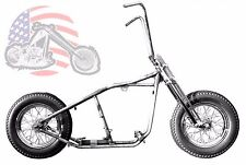 Kraft Tech Chopper Bobber Rigid Hardtail Frame Springer Rolling Chassis Harley !