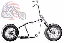 Kraft Tech Chopper Bobber Rigid Hardtail Frame Springer Rolling Chassis Harley !
