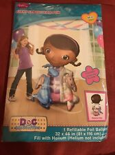 "Doc McStuffins Birthday Party Supplies Giant Gliding 46""Air-Walker Mylar Balloon"