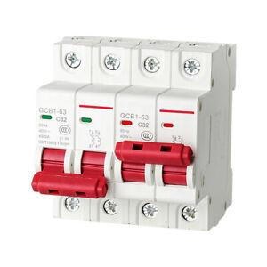 1X 2P-63A MTS Dual Power Manual Transfer Switch Circuit Breaker MCB 50HZ/60HZ