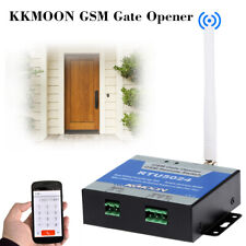 GSM SMS Gate Opener Relay Switch Free Call Phone Wireless Remote Control B0K8