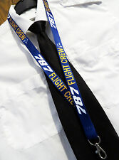 Boeing 787 Dreamliner FLIGHT CREW  Lanyard with safety clip
