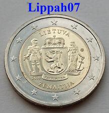 Litouwen / Lithuania / Litauen speciale 2 euro 2019 Zemaitija UNC