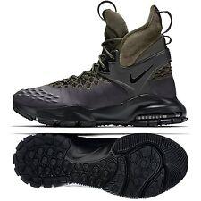 Nike NikeLab ACG Air Zoom Tallac Flyknit 865947-002 Black/Khaki Men Boots Sz 12