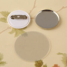 """1"""" 25mm 100metal Pin Badge Button Parts Supplies Rubber for Maker Machine"""