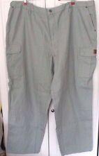 WALLS Work Wear~Green CONSTRUCTION GRADE CARGO WORK PANTS~Men's 2XL Regular~NWT
