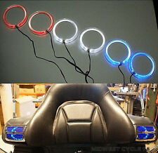 "Blue Angel Eyes LED Speaker Lights Goldwing GL1800 for 4"" & 5"" Speakers 45-1849L"