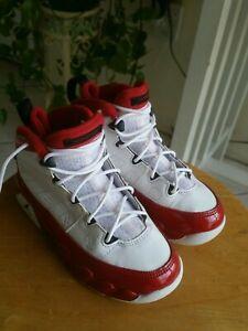 Nike Jordan 9 Retro (PS) White/Black-Gym Red 401811-160 Toddler Size 11C