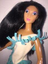 Color Splash hair Pocahontas Doll