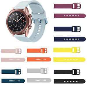 Wristwatch Strap Watch Band Belt for 41mm/45mm Samsung Galaxy Watch3 Smart Watch