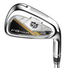 New Wilson Staff FG Tour V4 Iron Set 4-GW DG Pro S300 Stiff flex Steel Irons