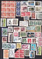 Dänemark   .. Kiloware auf Papier .... !!! 12 Bilder !!!