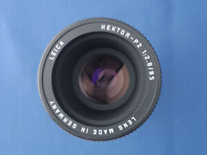 Leica Hektor-P2 85mm f/2.8 Slide Projector Lens C/W Front Cap and Case