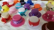 Miniature decorated HAT with roses 1:12th  scale dolls house UK SELLER