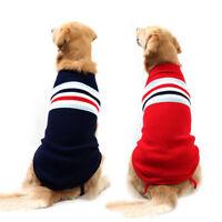 Cozy Winter Dog Sweater Knitted Labrador  Large Dog Coat Jacket Sweatshirt 2-3XL