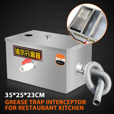 More details for commercial grease trap stainless waste water fat interceptor restaurant takeaway