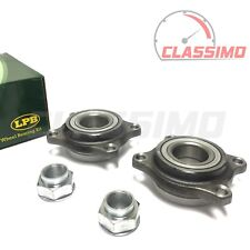 Front Wheel Bearing Hub Pair for ALFA ROMEO 147 - all models with ABS- 2001-2009