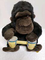 Gemmy BONGO GORILLA Singing Animated Stuffed Toy Retired 2001 No Box pre-owned