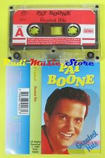 MC PAT BOONE Greatest hits 1991 GEMA WSC 92031 no cd lp dvd vhs
