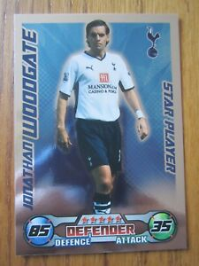Match Attax 2008/09 Star Player card - Jonathan Woodgate of Tottenham Hotspur