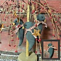 PATTERN Primitive Witch Witches Boots /& Crows w// Stars Ornie Doll Display TBP