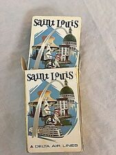 Vintage Delta Air Lines Saint Louis Deck of Playing Cards