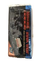 Topps Star Wars Widevision Collector Cards. Set Of 10 Cards - 1994