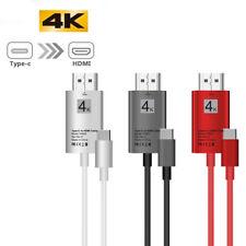 USB Tipo C 3.1 a 4K 2K HDMI Cable Digital Para Samsung Galaxy S8/S8/8 Note Plus