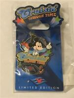 DCL- CRUISIN' THROUGH TIME- DISCO MICKEY MOUSE DISNEY LE 750 PIN 50072