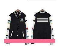 Kpop Bigbang Baseball Uniform MADE Coat Varsity Jacket Outwear