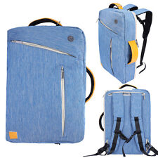 Blue Laptop Backpack Tote Messenger School Bag For Samsung Galaxy Tab S3 S4 / A