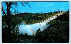 OROVILLE DAM, California CA ~ SPILLWAY Rainbow Butte County  c1960s Postcard